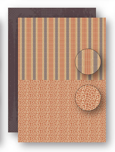 Background sheets Doublesided - African Nature 4