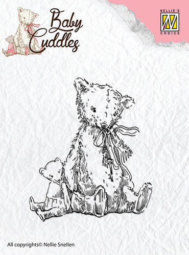 Clear Stamps - Baby Cuddles - Teddybears