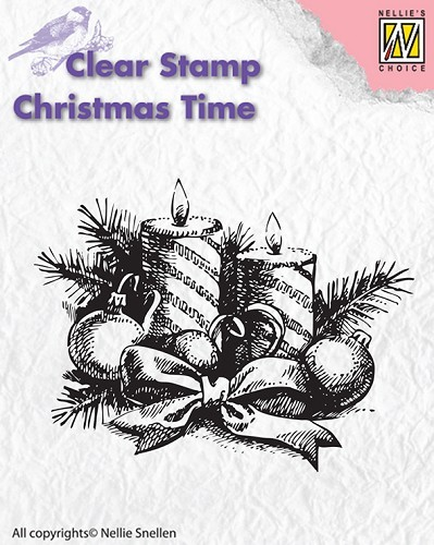 Clear stamps - Christmas Time - Candles