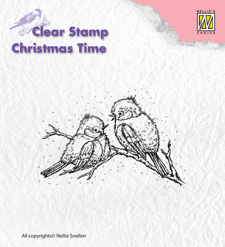 Clear Stamps - Christmas time - Christmas birds