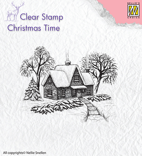 Clear stamps Winter scene