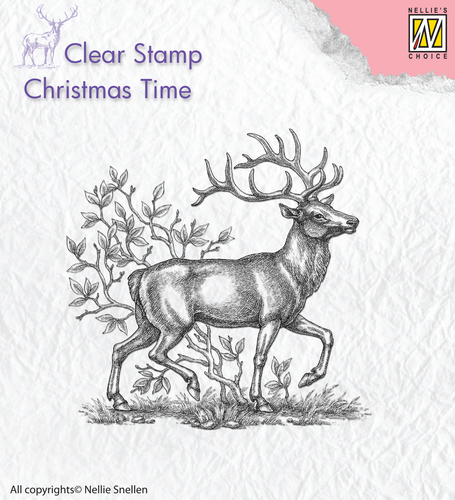 Clear stamps Reindeer