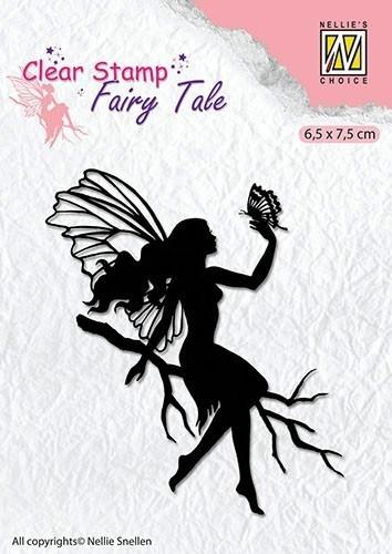 Clear stamps silhouette Fairy Tale