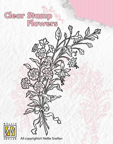 Clear Stamp Flowers - Bouquet of wild flowers 2