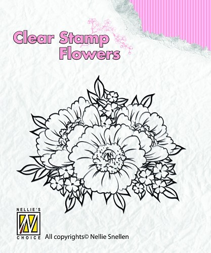 Clear stamps Flowers Anemones