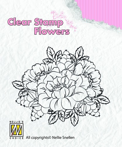 Clear stamps Flowers Kingcups