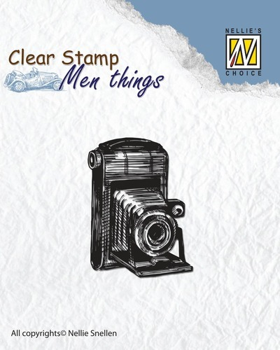 Clear stamps - Men things - Camera