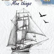 "Clear stamps Men Things ""Sailingboat-2"""