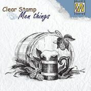 "Clear stamps Men Things ""Beer"""