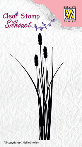 Silhouette clear stamps - Ears of grass-2