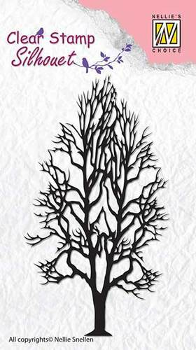 Clear stamps - Silhouet - Tree-2