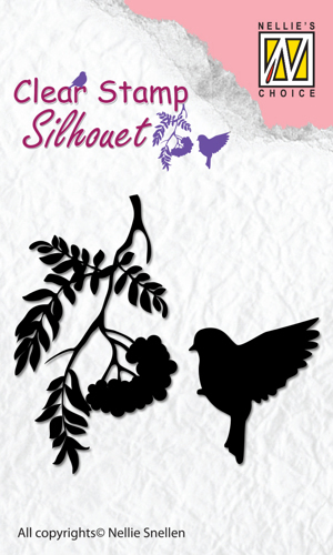 Clear Stamps silhouette Birdsong-4