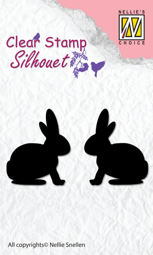"Clear Stamps silhouette ""Hare"""