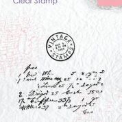 "Clear stamps textures ""writing"""