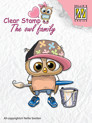 Clear stamps The owl family Artist