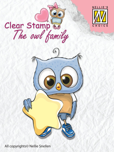 "Clear Stamps The owl Family ""star"""
