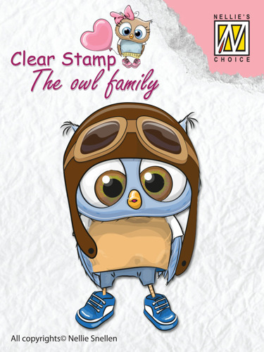 "Clear Stamps The owl Family ""pilot"""