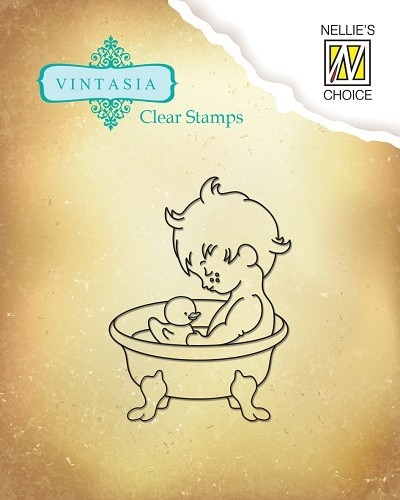 Clear stamps Vintasia Sweet Home