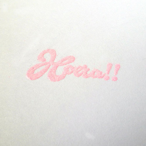 Embossing Powder - Baby pink