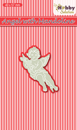 Hobby solutions Die Cut Angel with Mandoline