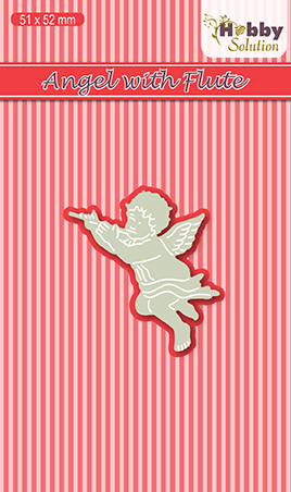 Hobby solutions Die Cut Angel with flute