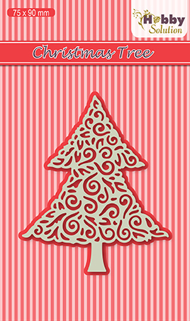 Hobby solutions Die Cut Christmas-tree