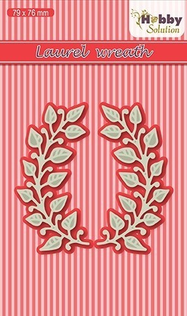 Hobby solutions Die Cut Laurel wreath