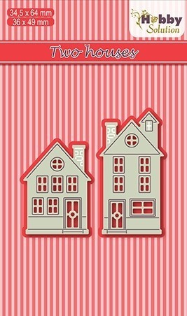Hobby solutions Die Cut two houses
