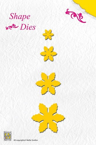 Shape Die - Christmas Flowers