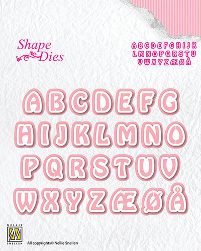 Shape Dies - Alphabet-3