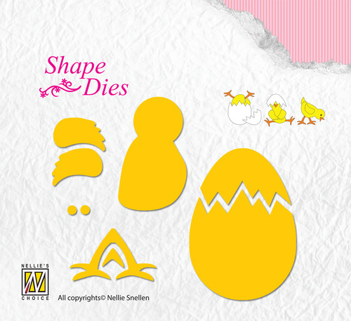 Shape Dies - Build-up chicken & egg
