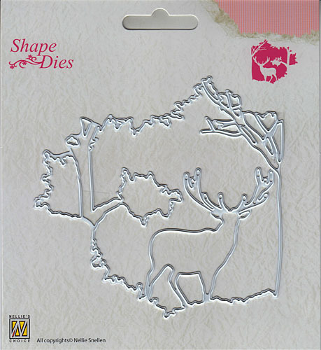 "Shape Dies ""Christmas window scene-1"""