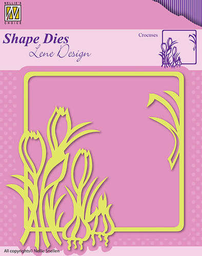 Shape Dies - Lene Design - Spring flowers Crocuses
