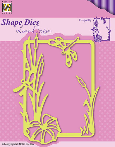 Shape Dies - Lene Design - Summer Dragonfly