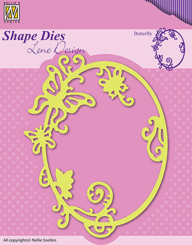 Shape Dies - Lene Design - Summer Butterfly
