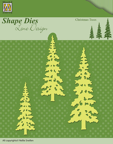 Shape Dies - Lene Design - Nellie Christmas trees