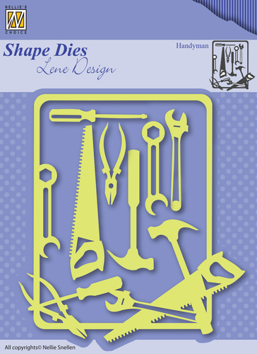 Shape Dies - Lene Design - Men things - Handyman
