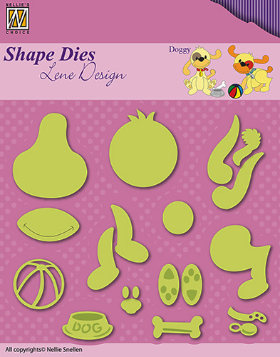 "Shape Dies - Lene Design - animals ""doggy"""