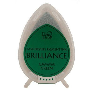 Brilliance Dew Drops inkpads Gamma green