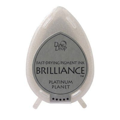 Brilliance Dew Drops inkpads Platinum Planet