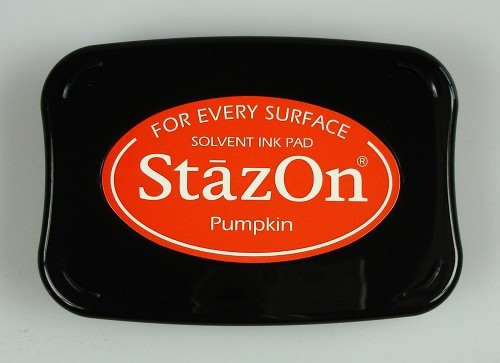 Stazon Ink pad pumpkin