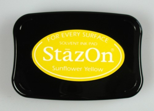 Stazon Ink pad Sunflower yellow