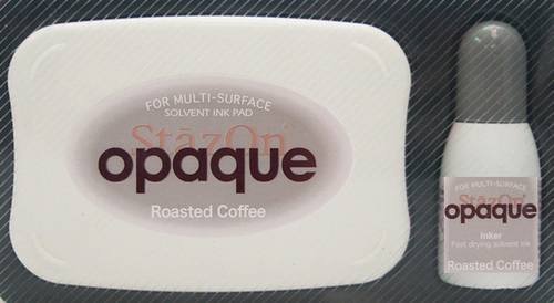 Stazon inkpad set - Opaque - Roasted coffe