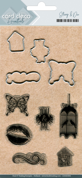Clear stamps & Cutting Die