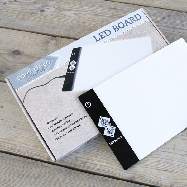 Card Deco Essentials Led Board