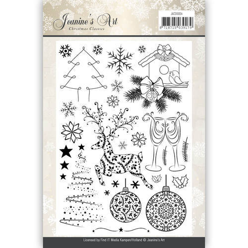 Clearstamp - Jeanines Art - Christmas Classics
