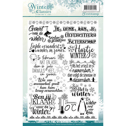 Clearstamp - Jeanines Art - Winter Classics