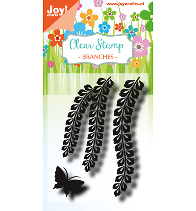 Clearstamp - LH - Branches with butterfly
