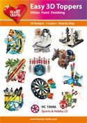 Easy 3D-Toppers Sports & Hobby (2)