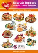 Easy 3D-Toppers Eat & Drink